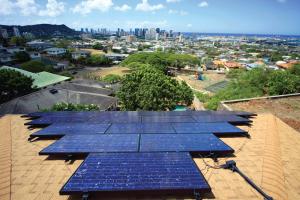 Photo: Rooftop solar panels