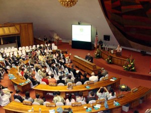 Photo of Hawaii-China Forum at the State Capitol