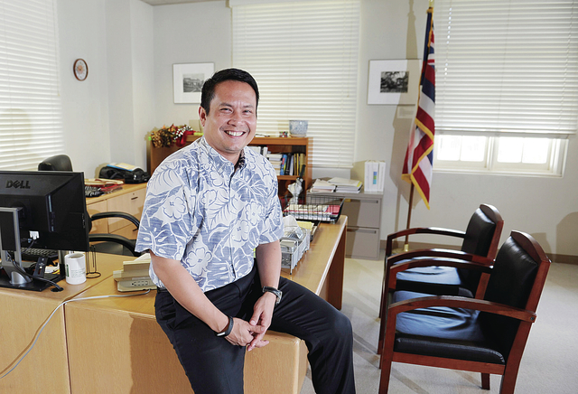"BRUCE ASATO / BASATO@STARADVERTISER.COM ""We always say that it's kind of hard … to do business in Hawaii. … (But) if that was the case, we wouldn't have a startup community. We wouldn't have some of the most vibrant and financially strong banks in the country. We wouldn't have a robust tourism economy, all of these different things."" - Luis Salaveria, Director, state Department of Business, Economic Development and Tourism"