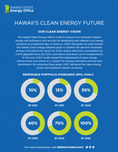 Hawaii's Clean Energy Future handout