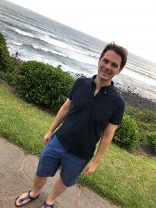 Photo of Scott at Puna beach
