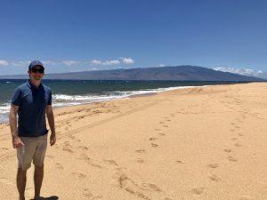 Photo of Michael on Hawaii beach