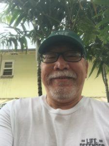 Photo of Alan under tree