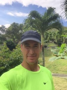 Photo of John in garden