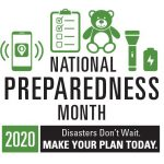 National Preparedness Month 2020 logo